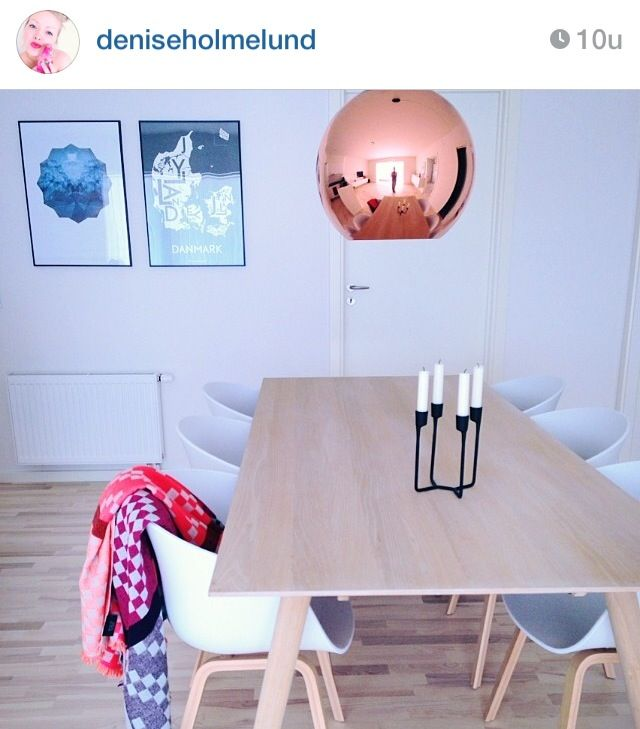 Spisestue tomdixon haydesign normanncopenhagen bolig hjem dansk design boligindretning boliginspiration