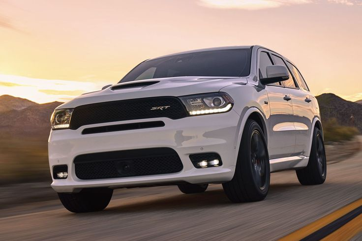 The 475-Horsepower 2018 Dodge Durango SRT Is a Charger Scat Pack With Seven Seats
