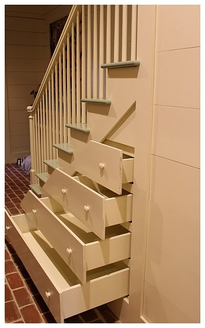 17 best ideas about stair drawers on pinterest bunk bed for Under stairs drawers plans