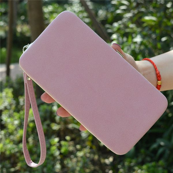 Women Flower 5.5 Inch Phone PU Wallet Case Cover Long Wallet Purse For Iphone Samsung Huawei Xiaomi