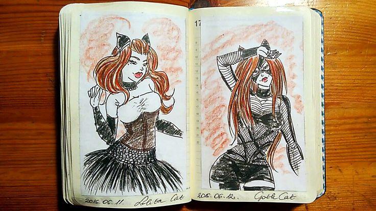 Lolita & Goth Cat