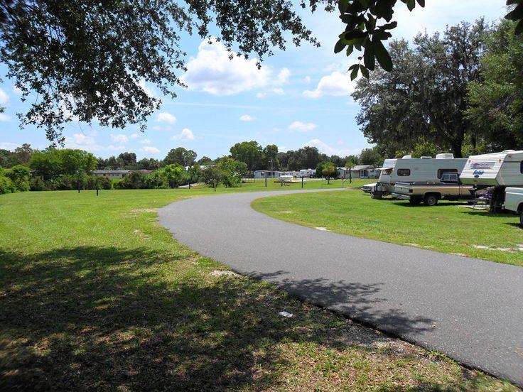 South Shore MH RV Park At Lake Panasoffkee Florida United States