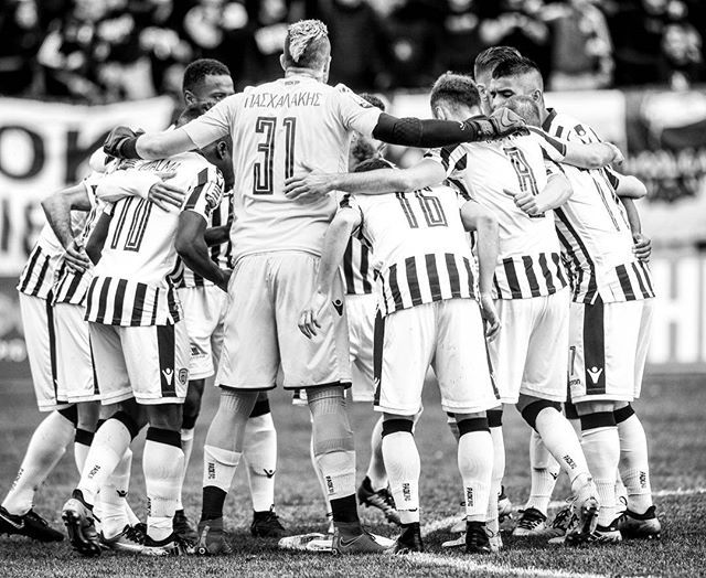We still are as a #PAOKfamily and we #DareToDream #PAOK