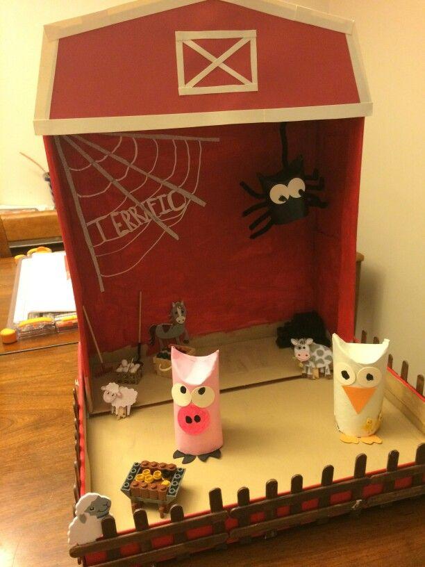 Charlotte's Web Diorama