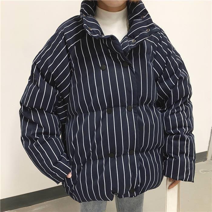 winter Padded Jacket black