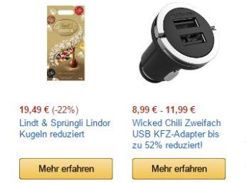 Amazon: Lindt Lindor-Kugeln im Kilopaket für 19,49 Euro https://www.discountfan.de/artikel/essen_und_trinken/amazon-lindt-lindor-kugeln-im-kilopaket-fuer-19-49-euro.php Die neue Woche fängt gut an für Schokoholiker: Bei Amazon ist das Kilogramm-Pack (!) Lindt-Lindor-Kugeln zum Schnäppchenpreis von 19,49 Euro zu haben. Zur Auswahl stehen zwei Varianten. Amazon: Lindt Lindor-Kugeln im Kilopaket für 19,49 Euro (Bild: Amazon.de) Das Kilogramm Lindor-Kugeln für 19,4... #P