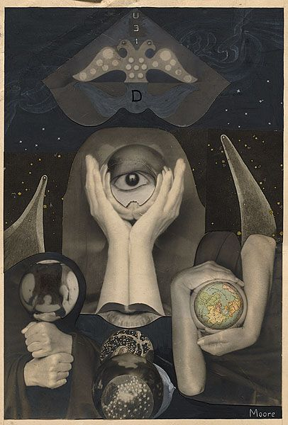 Claude Cahun and Marcel Moore, Photomontage for frontispiece for Aveux non avenus (unavowed confessions), 1929-30