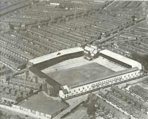 Goodison Park, Everton in the 1960s.