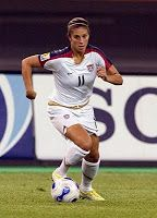 Shannon MacMillian Member of Gold Medal winning U.S. Women's Nat'l Team at 1996 Centennial Olympic Games. Led USA w/ 3 goals in 5 Olympic matches, incl. the match-winners vs Sweden & Norway. Originally left off roster for residential training camp leading up to Olympics, she battled her way back onto the team & into starting lineup.  Youngest member of U.S. Women's Nat'l Team that won the silver medal at 1993 World University Games in Buffalo, NY, where she made her debut with the U.S. Team.