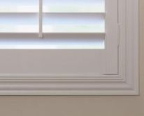 Beautiful framing for timber shutters.