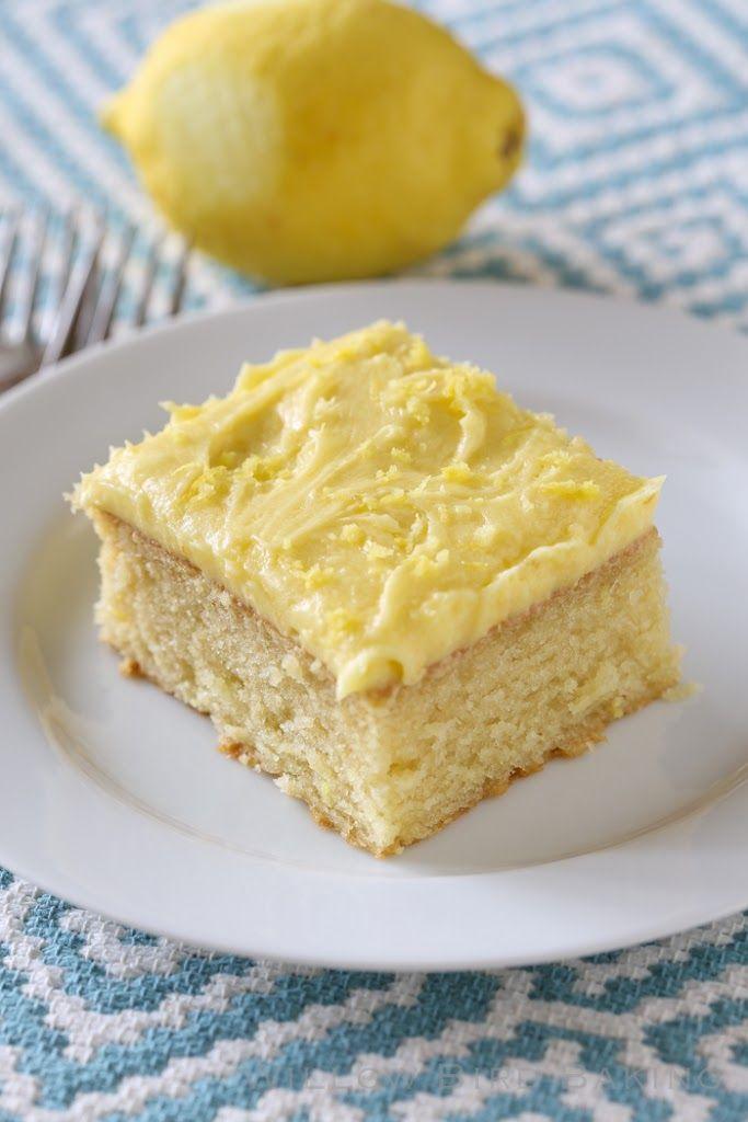 Yellow Cake Icing Recipe