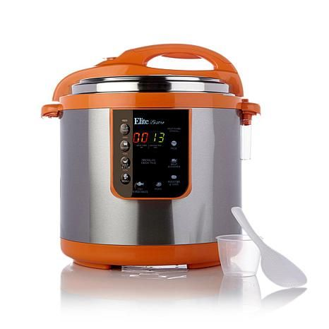 Elite 8-Function 10-Quart Electronic Pressure Cooker - 7512984 | HSN