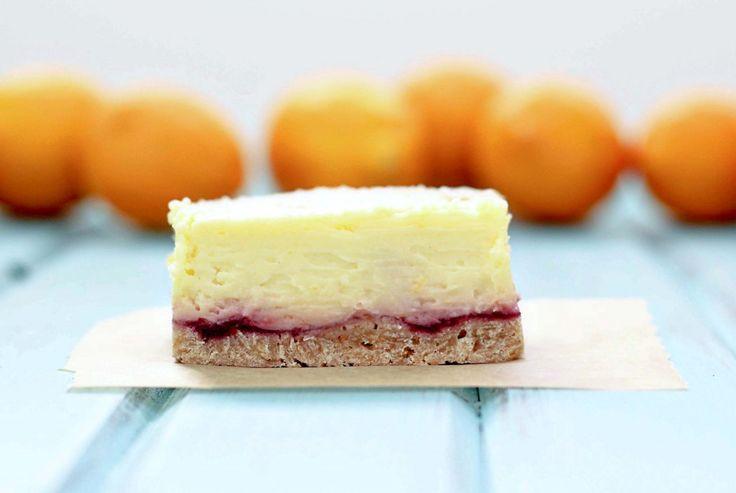 love cheesecake! lemon rasberry cheese cake bars..need to try
