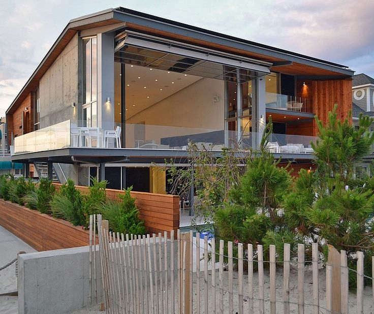 Long Island Beach House by West Chin Architect
