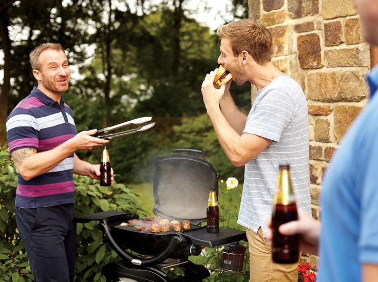 Cook up a storm with the Weber Gas BBQ. With capacity to feed eight people, there won't be any hungry complaints whilst enjoying the football!