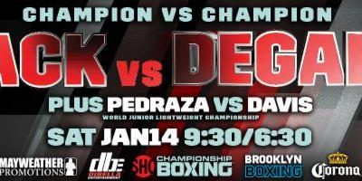 Badou Jack vs. James DeGale Media Workout Quotes & Photos | REAL COMBAT MEDIA