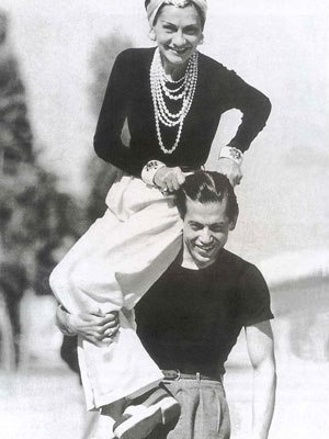 Coco Chanel and Serge Lifar 1937.one of our favourite  images