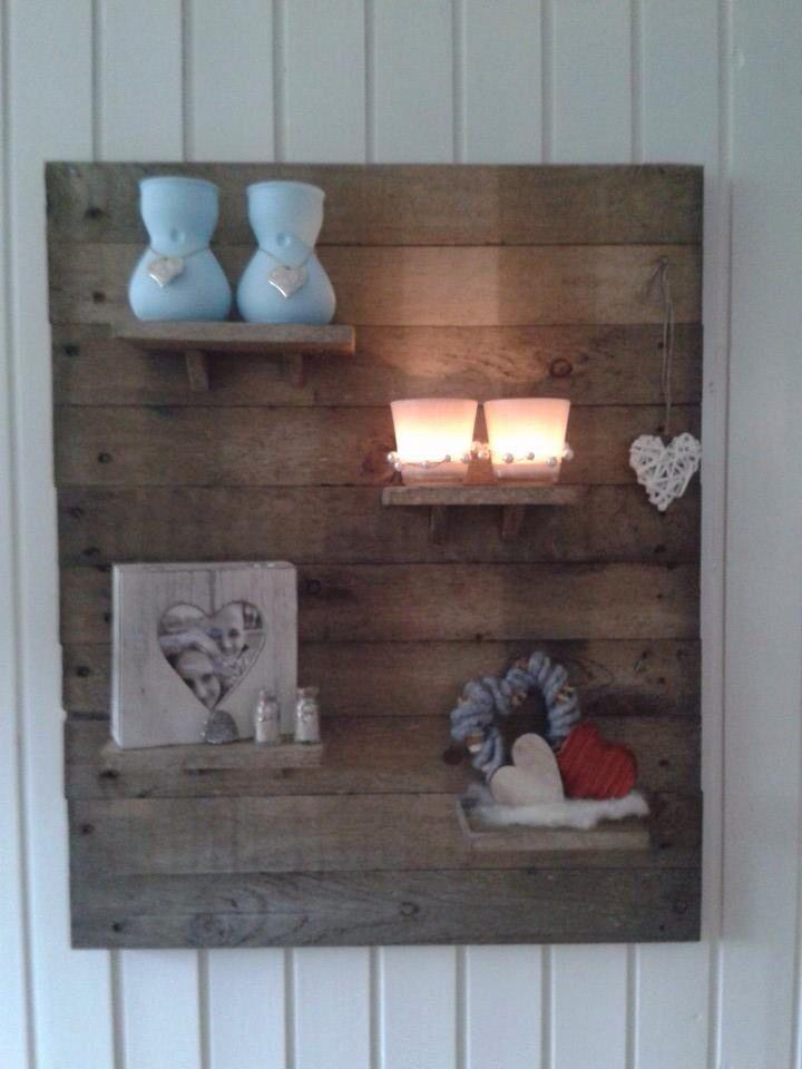 Wandbord Wooden PalletsDecorating IdeasSweetCandyPallet 16 best