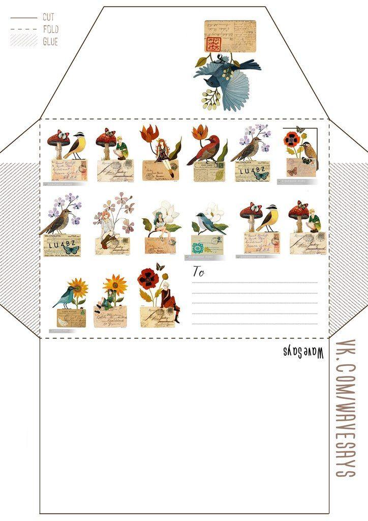 Шаблоны конвертов – 1 149 фотографий