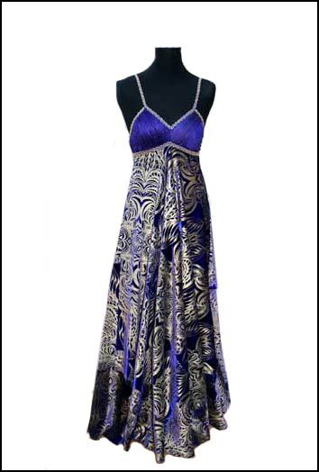 owl evening wear | Formal evening wear velvet dress