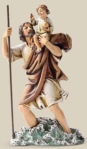 45 best saint christopher images on pinterest saint christopher patron saints and santos. Black Bedroom Furniture Sets. Home Design Ideas