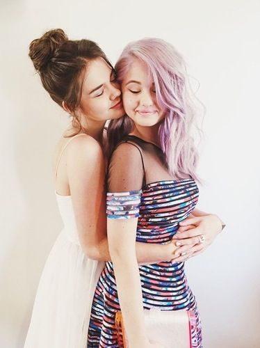 Maia Mitchell and Debby Ryan Pose for Super Cute New Photo ...