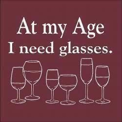 That I sure do: Wine Glass