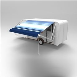 Motorized Retractable RV Patio Awning