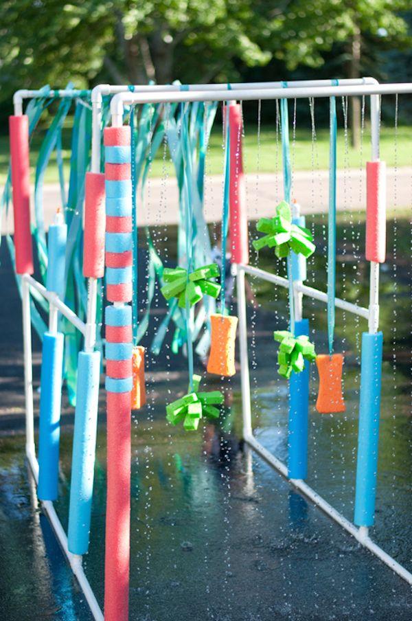 6 juegos de agua caseros para el verano