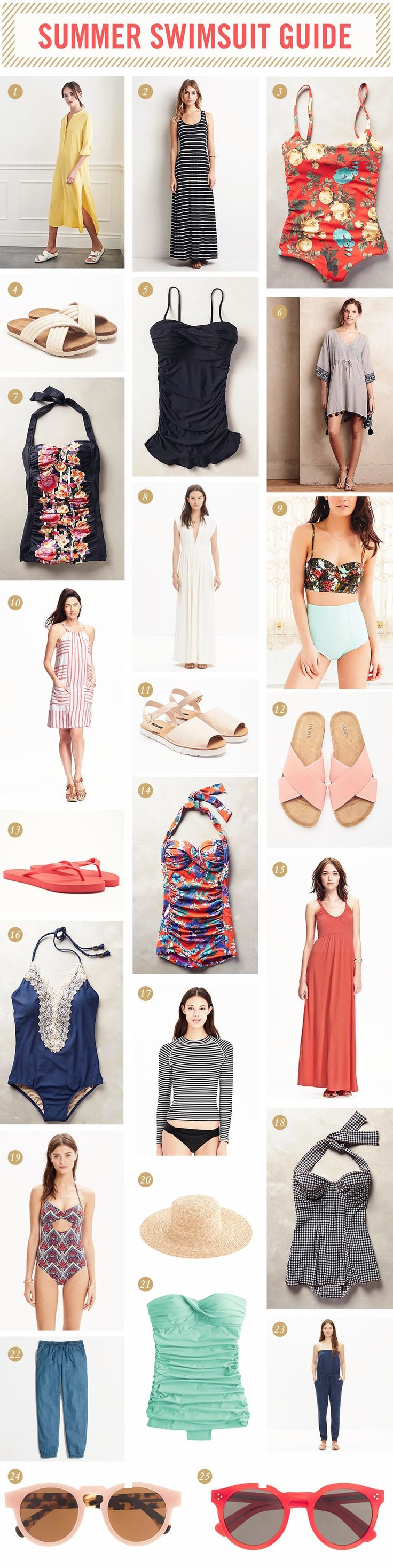 2015 Summer Swimsuit Guide — West Coast Capri