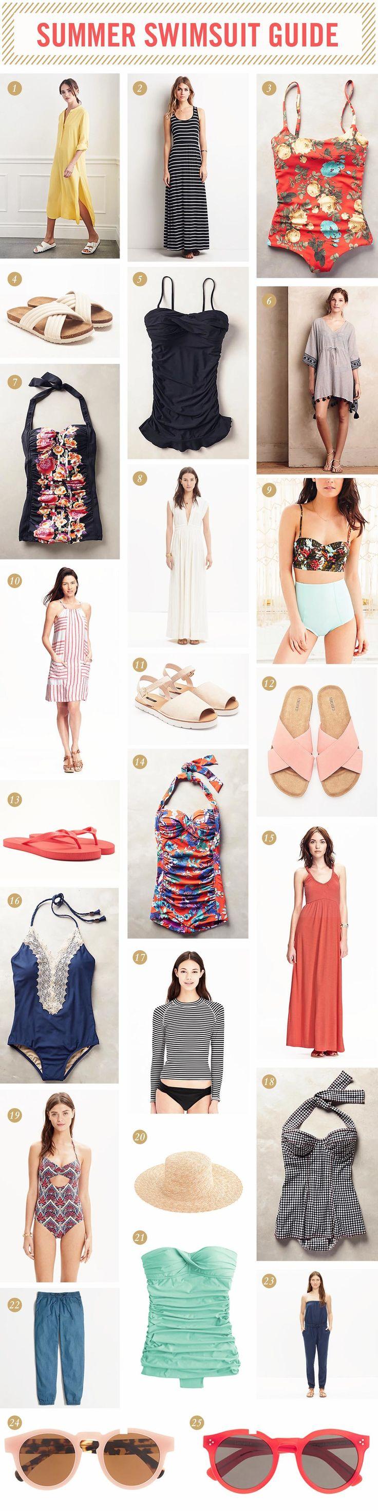 2015 Summer Swimsuit Guide — West Coast Capri
