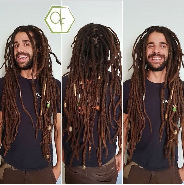 Dreadlocks für Männer | Frisuren für dreads, Stärkeres