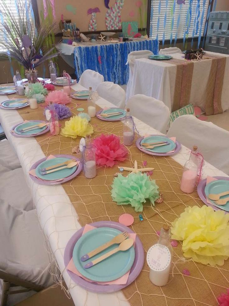 Baby Shower Bastelideen ~ Mermaids baby shower party ideas mermaid showers