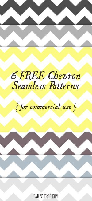 Free Chevron Seamless Patterns and Papers for Commercial Use  //  fabnfree.com
