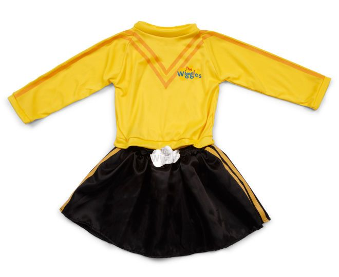 The Wiggles Emma Dress Up Costume - Yellow/Black