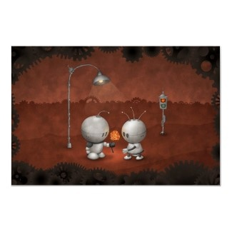 Robots In Love Posters $26.95