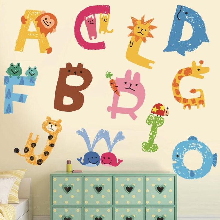 Alphabet Educational Wall Decal U2013 The Treasure Thrift Part 74