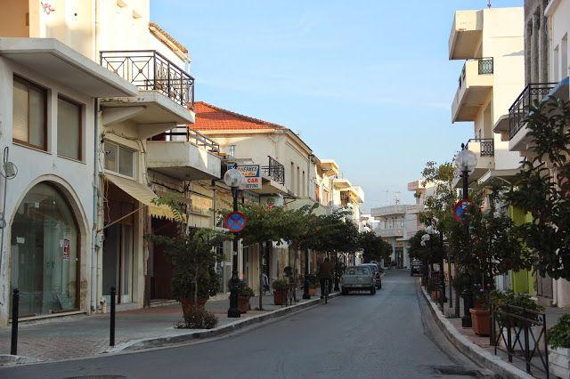 Una delle due strade principali di Kastemos