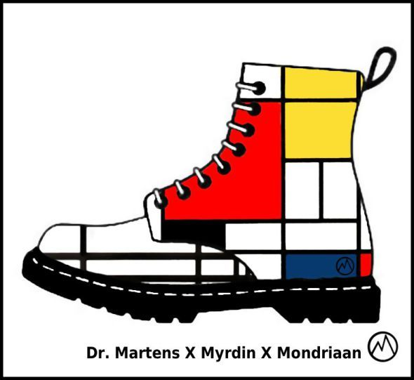 Dr. Martens Design-a-boot designs by Myrdin 2016/2017 | Planet M.