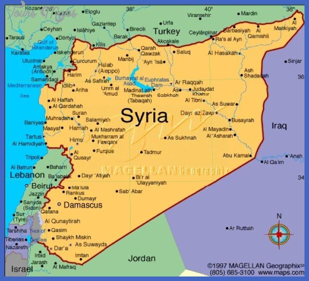 nice Syria Map