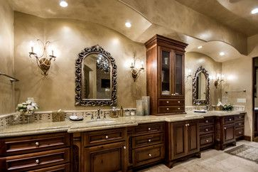 Tuscan Bathrooms Design Ideas, Pictures, Remodel, and Decor - page 2