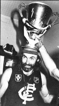 Bruce Doull with the cup.