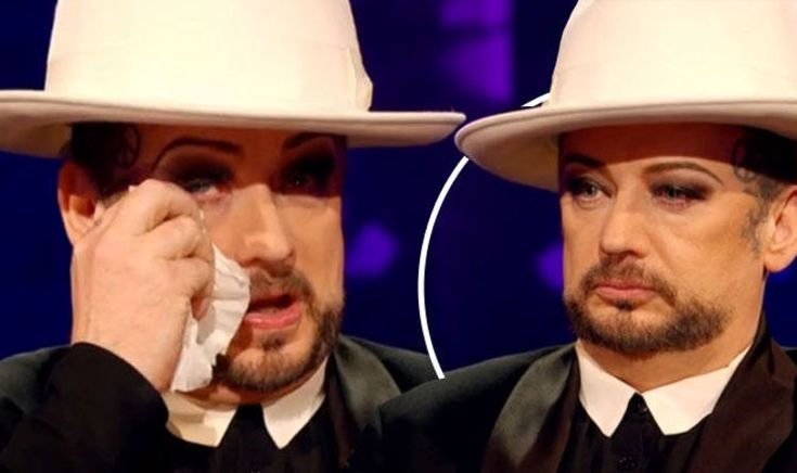 nice Boy George in tears as he apologises to his escort prisoner for first time | TV & Radio | Showbiz & TV Check more at http://newsposto.com/boy-george-in-tears-as-he-apologises-to-his-escort-prisoner-for-first-time-tv-radio-showbiz-tv/206113