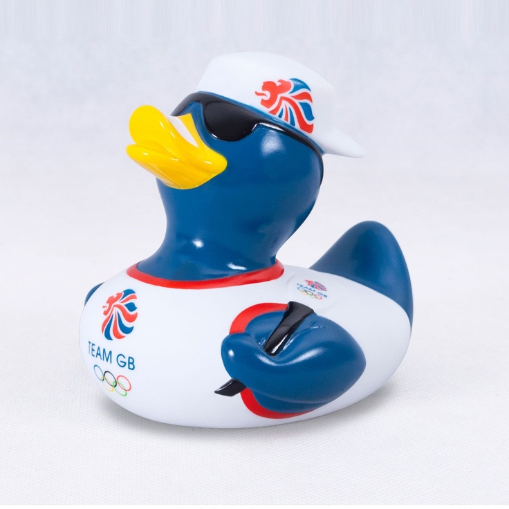 Team GB Olympic Rowing duck