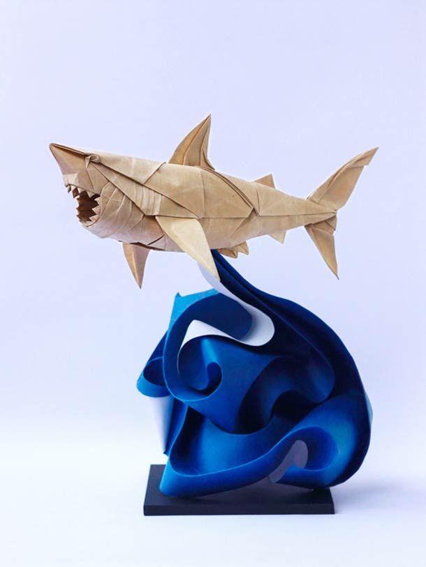 #Art, #Origami, #Paper: