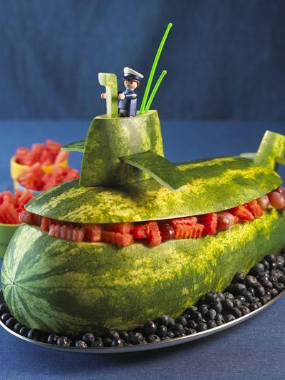Watermelon Submarine