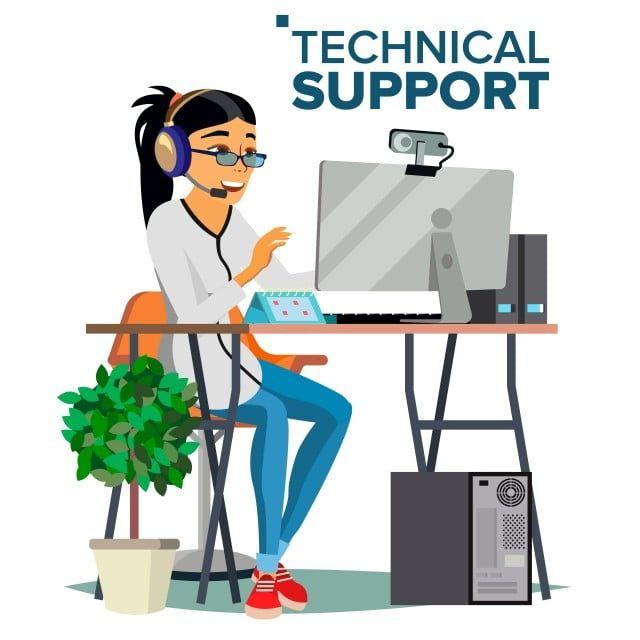 Gambar Dukungan Teknis Spesialis Operator Online Vektor Siap Untuk Memecahkan Masalah Ilustrasi Terisolasi Datar Dukungan Teknis Komputer Png Dan Vektor Deng Di 2021 Ilustrasi Papan Klip Spanduk