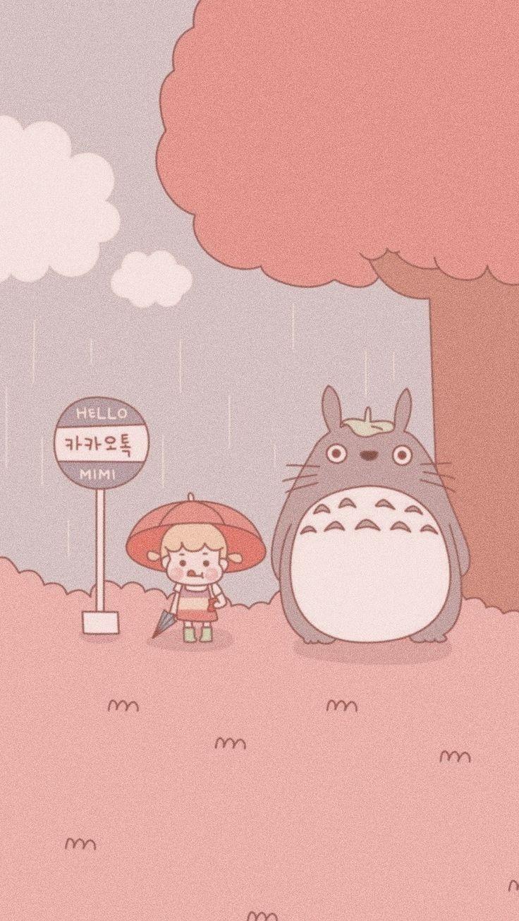 Meuamigototoro Totoro Wallpaper Wallpapers Bonitos Papel De