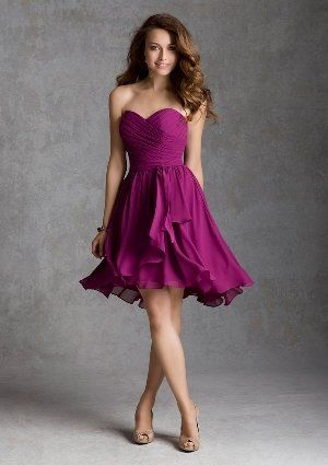 Radiant Orchid Bridesmaid Dress