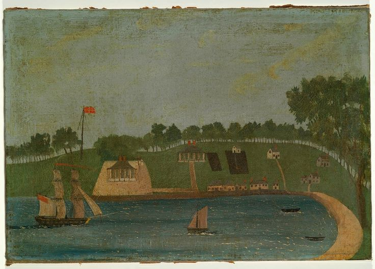 Port Arthur, 1833. Painting by unknown artist. From the collections of the State Library of New South Wales: http://acmssearch.sl.nsw.gov.au/search/itemDetailPaged.cgi?itemID=455940